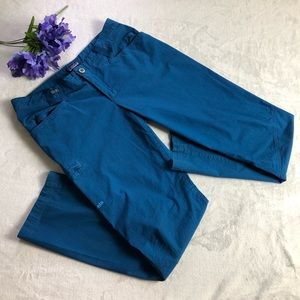 Patagonia Women's Cargo Style Pants size: 12 blue